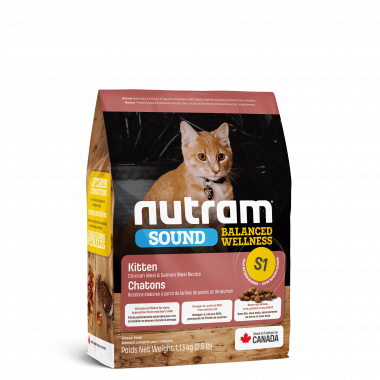 S1_NUTRAM Sound Balanced Wellness Natural Kitten Food Сухой корм для котят