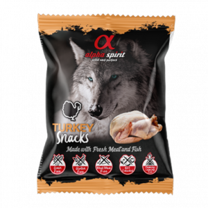 ALPHA SPIRIT Dog Snacks Turkey Полувлажные лакомства (индейка)