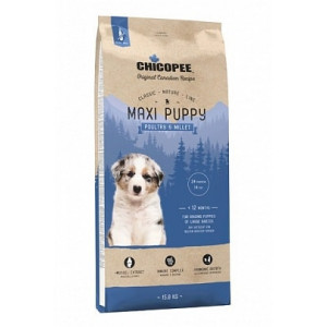 Chicopee Classic Nature Line Maxi Puppy Poultry & Millet