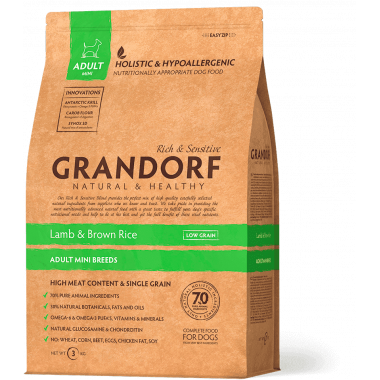 Grandorf Sensitive Care Holistic Lamb & Brown Rice Mini